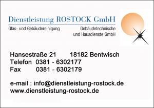 Sponsorentafel Dienstleistung Rostock