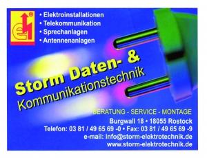 Sponsorentafel Storm