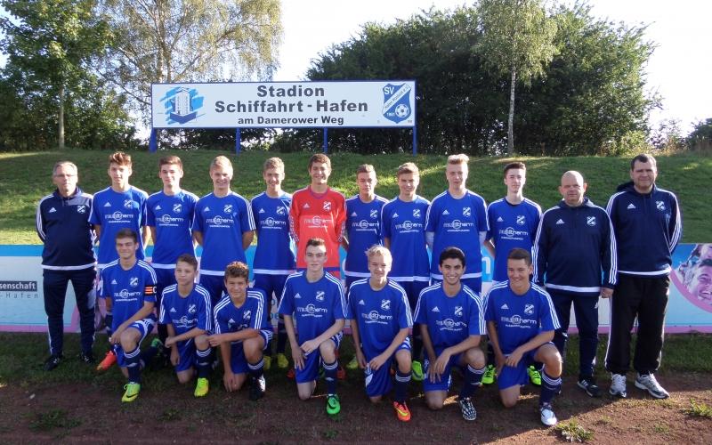 B2-Junioren 2015/2016