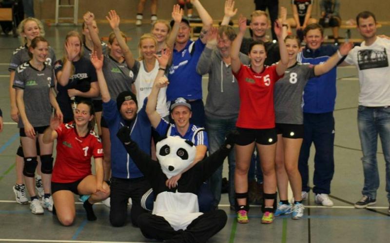 Volleyball: Nur Gewinner!
