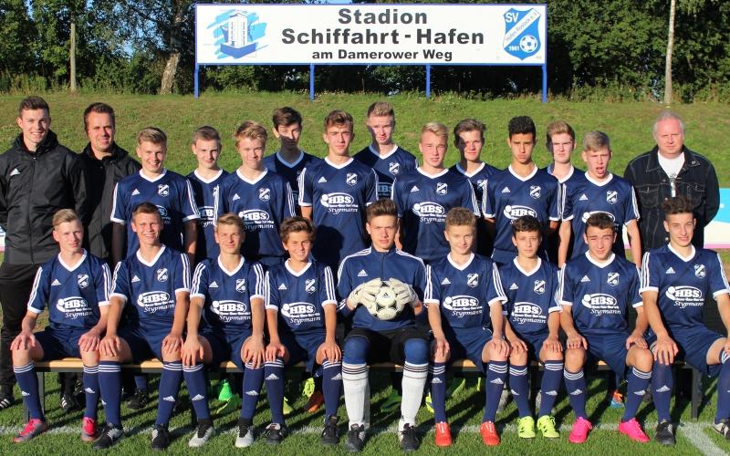 Hafen-B1 spielt 3:3 in Malchin