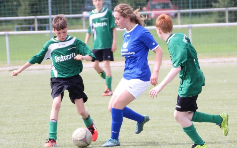 B-Juniorinnen gegen Güstrower SC III  0:6