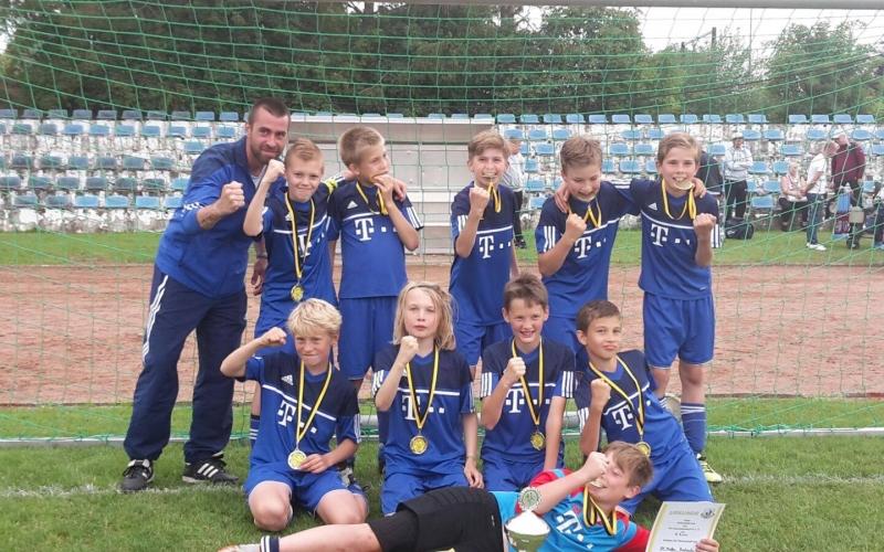 D2-Junioren holen sich Turniersieg!