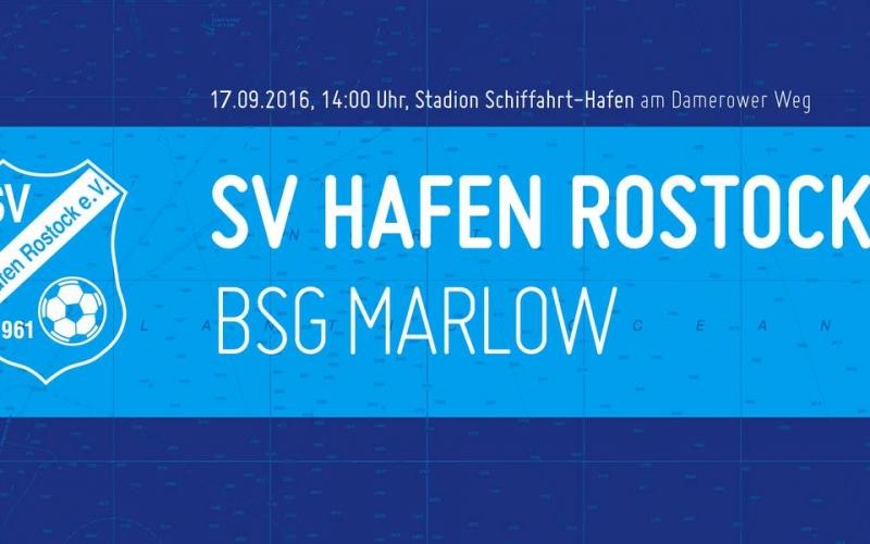 Heute im Stadion: Hafen vs. Marlow