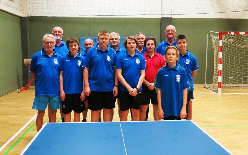Tischtennis – 6. Mannschaft