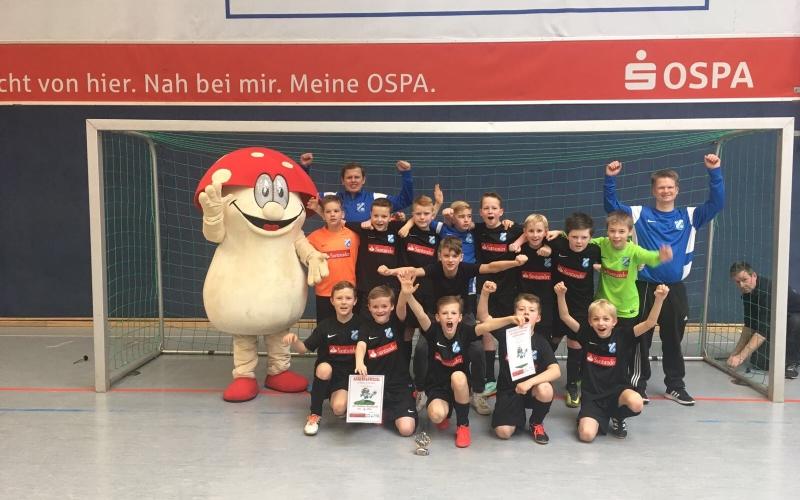 FC Hansa verteidigt Titel beim 4. OSPA-CUP