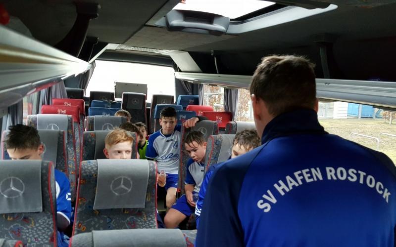 C1: Mit dem Bus ans Spielfeld – bei Hafen immer ein Erlebnis!