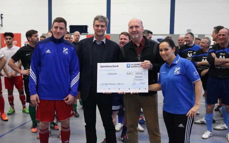 Schiffahrt-Hafen-Rostock-Cup festigt die starke Gemeinschaft