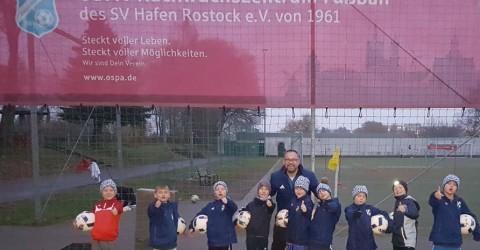 SV Hafen Rostock – F-Junioren sind OSPA
