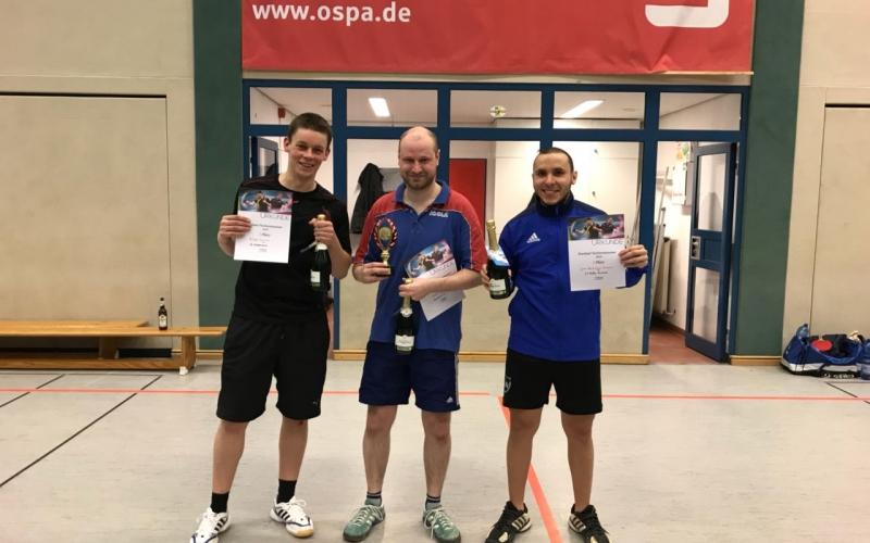 TT- Juan wurde 3. beim Auenlandpokal-Turnier