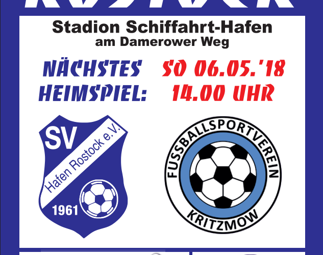 Spieltagsübersicht 05.05. – 07.05.2018
