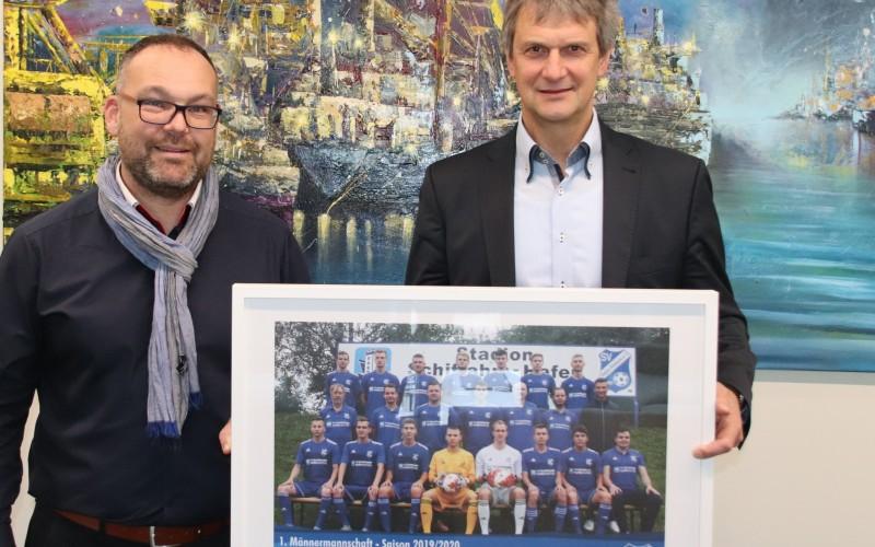Der SV Hafen Rostock bedankt sich bei der WG Schiffahrt Hafen Rostock