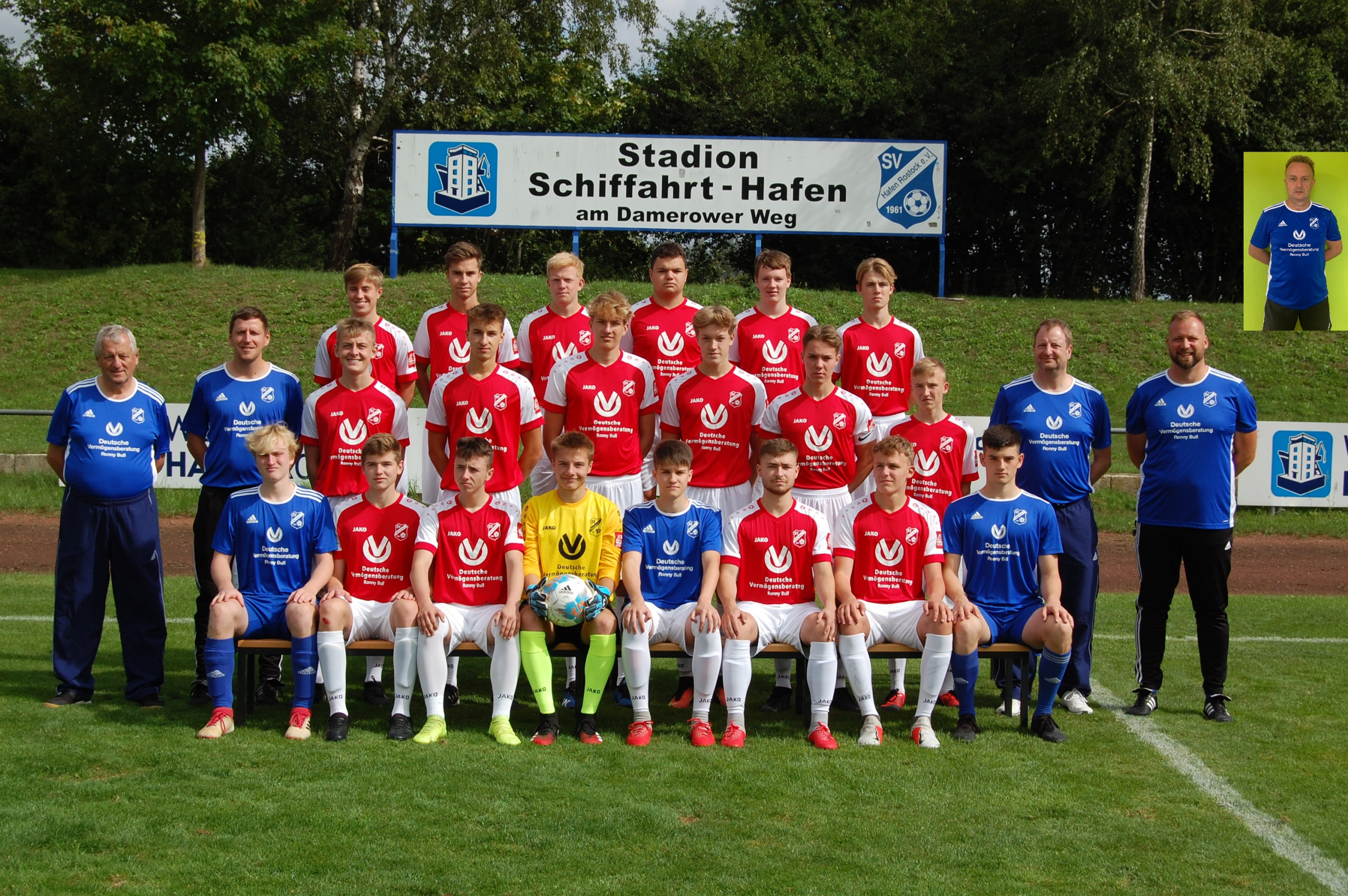 Mannschaftsfoto A-Jugend 2020