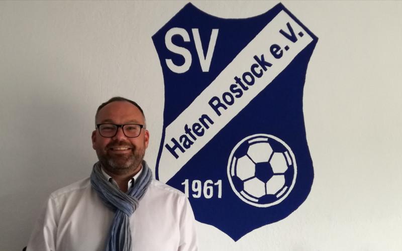 Unser SV Hafen Vorstand – 1. Vorsitzender Rico Turner